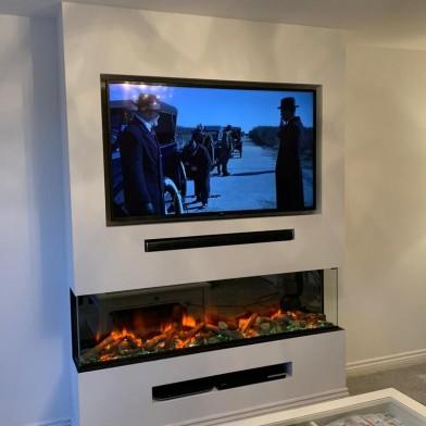 Panoramic Dual Recess & TV